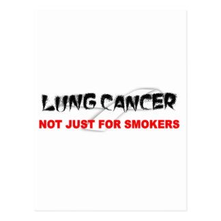 Lung Cancer: Not Just For Smokers Postcard