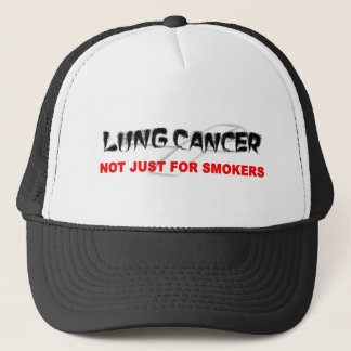 Lung Cancer: Not Just For Smokers Trucker Hat