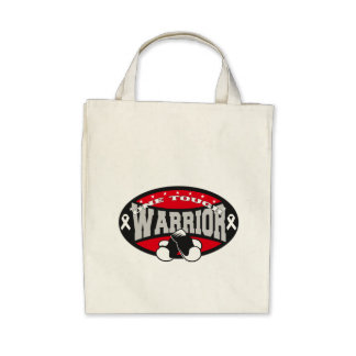 Lung Cancer One Tough Warrior Bags