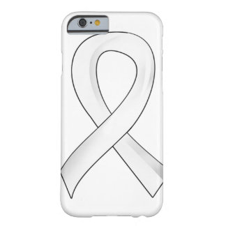 Lung Cancer Pearl Ribbon 3 Barely There iPhone 6 Case
