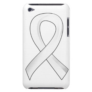 Lung Cancer Pearl Ribbon 3 Barely There iPod Cover