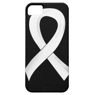 Lung Cancer Pearl Ribbon 3 iPhone 5 Cover