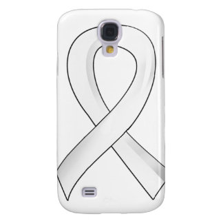Lung Cancer Pearl Ribbon 3 Samsung Galaxy S4 Cases