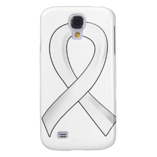 Lung Cancer Pearl Ribbon 3 Galaxy S4 Case