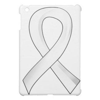 Lung Cancer Pearl Ribbon 3 iPad Mini Cover