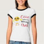 Lung Cancer Picked The Wrong Chick Tees