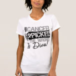 Lung Cancer Picked The Wrong Diva Shirt