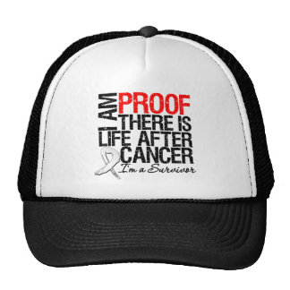 Lung Cancer Proof There is Life After Cancer Mesh Hats
