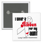 Lung Cancer Ribbon (Aunt) Pin