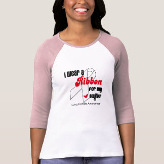 Lung Cancer Ribbon (Daughter) T Shirt
