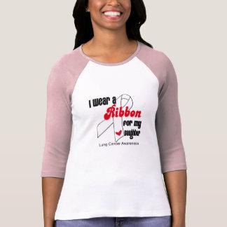 Lung Cancer Ribbon (Daughter) Tee Shirt