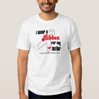Lung Cancer Ribbon (Mother) T Shirt