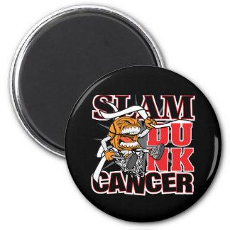Lung Cancer - Slam Dunk Cancer Refrigerator Magnets