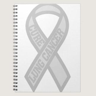 Lung Cancer Spiral Notebook