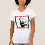 Lung Cancer Standing Strong We Can Do It Tees