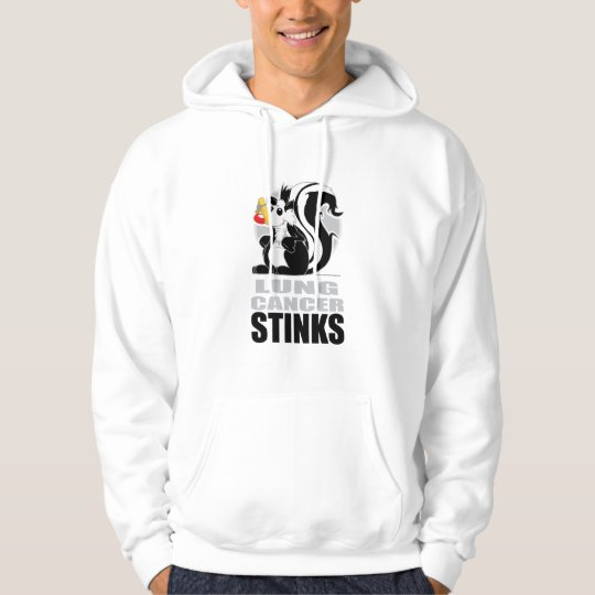 Lung Cancer Stinks Hoodie
