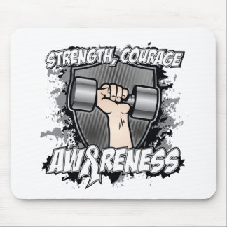 Lung Cancer Strength Courage Men Mousepad