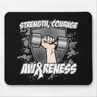 Lung Cancer Strength Courage Men Mouse Pad