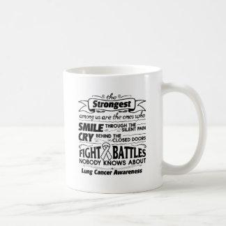 Lung Cancer Strongest Among Us Coffee Mug