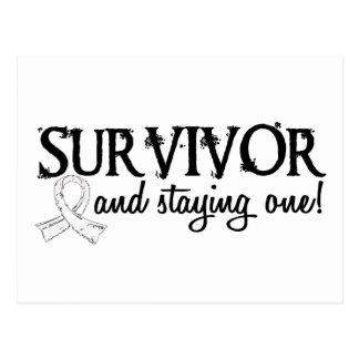 Lung Cancer Survivor 18 Postcard