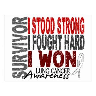 Lung Cancer Survivor 4 Postcard