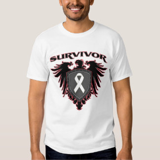 Lung Cancer Survivor Crest Shirt