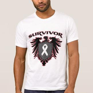 Lung Cancer Survivor Crest Tees
