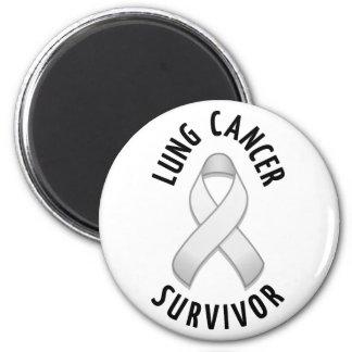 Lung Cancer Survivor Magnet