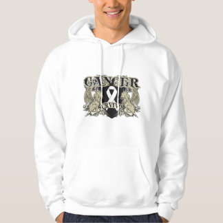 Lung Cancer Survivor Mens Heraldry Sweatshirts