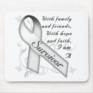 Lung Cancer Survivor Mouse Pad