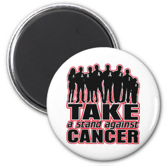Lung Cancer -Take A Stand Against Cancer Magnets