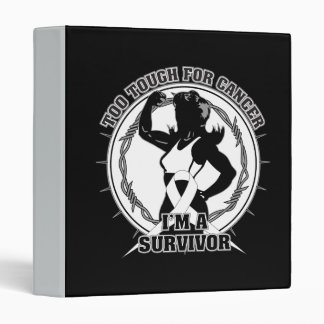 Lung Cancer Too Tough For Cancer Vinyl Binders