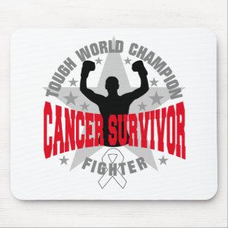 Lung Cancer Tough World Champion Survivor Mouse Pads