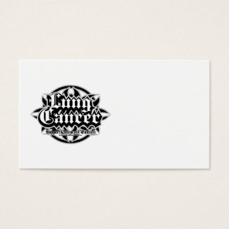 Lung Cancer Tribal Business Card