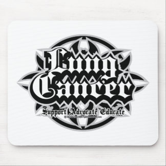 Lung Cancer Tribal Mouse Pad