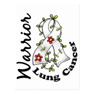 Lung Cancer Warrior 15 Postcard