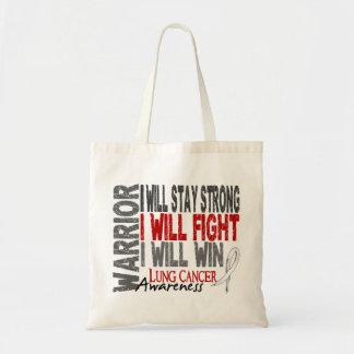 Lung Cancer Warrior Bag