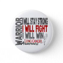 Lung Cancer Warrior Button