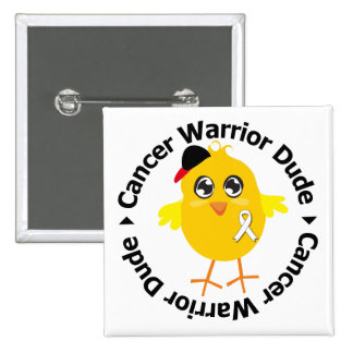 Lung Cancer Warrior Dude Buttons