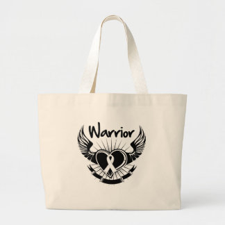 Lung Cancer Warrior Fighter Wings Bag