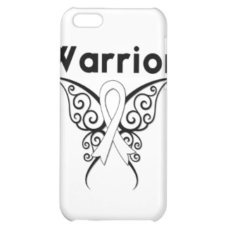 Lung Cancer Warrior Tribal Butterfly iPhone 5C Cover