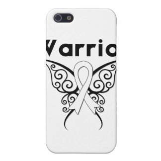 Lung Cancer Warrior Tribal Butterfly iPhone 5 Covers