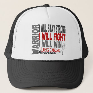 Lung Cancer Warrior Trucker Hat