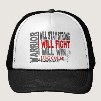 Lung Cancer Warrior Trucker Hat