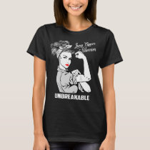 Lung Cancer Warrior Unbreakable T-Shirt