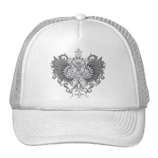 Lung Disease Awareness Cool Wings Hats