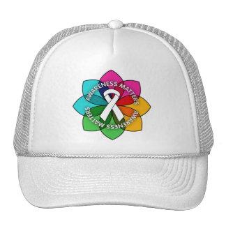 Lung Disease Awareness Matters Petals Mesh Hat