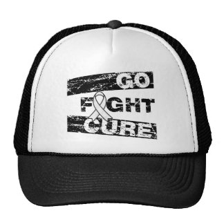 Lung Disease Go Fight Cure Hat