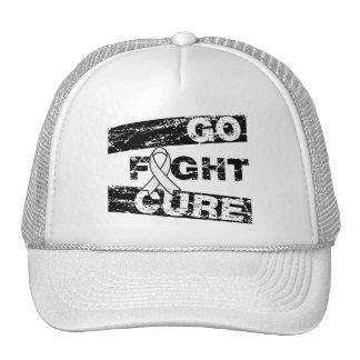 Lung Disease Go Fight Cure Trucker Hat