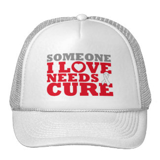 Lung Disease Someone I Love Needs A Cure Mesh Hat